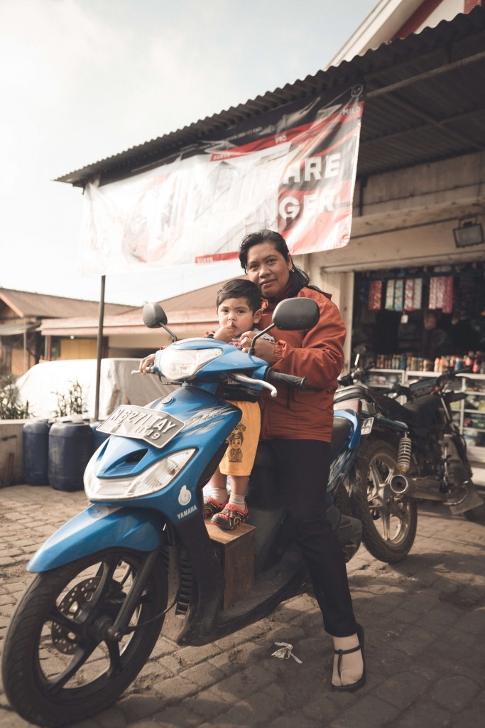 Renting a scooter in Yogyakarta