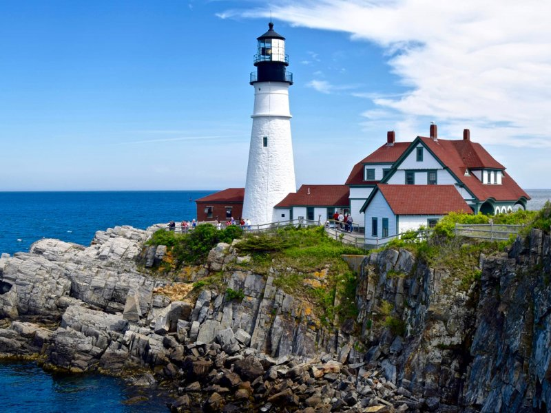 Places to visit in New England