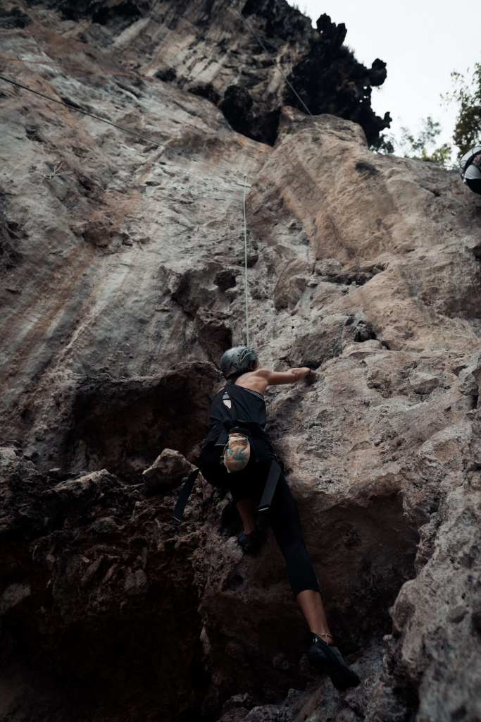 Rock Climbing at Railay Beach