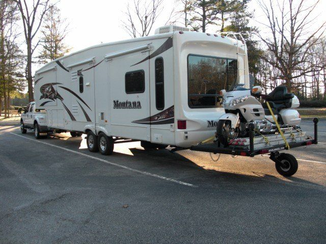 5th Wheel motorcycle carrier